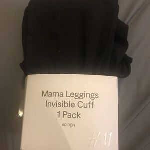 3/$13 H&M Mama Black Leggings